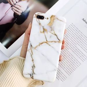 Accessories - Rubber IPhone 6 7 X Marble Cases